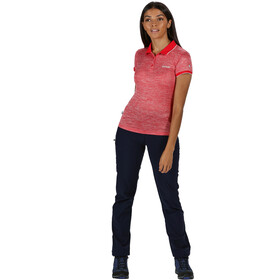Regatta Remex II Bluzka z krótkim rękawem Kobiety, red sky